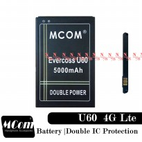 Baterai Evercoss U60 Double IC Protection