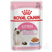 Royal Canin Kitten Instinctive in Jelly Pouch (85gr)
