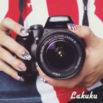 LAKUKU Nail Sticker / Stiker Kuku Country & Others