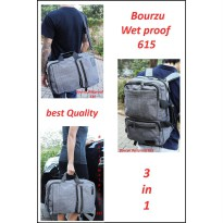 TAS RANSEL-SLEMPANG-JINJING BOURZU Wet Proof 615 - 3 in 1