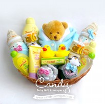 Candy Baby Gift & Hampers [Zwitsal - Happy Baby Shower] Parsel/Kado/Bingkisan Bayi