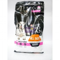 Makanan Anjing Pro Plan Adult All Size Sensitive Skin & Stomach 1.3kg