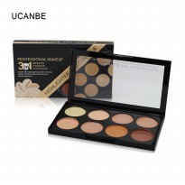 [8 Colour] Kiss Beauty Highlighter and Contour Cream 3 in 1