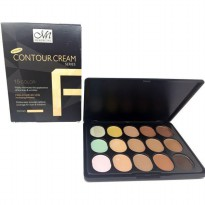 [ ukuran besar ] Contour Cream 15 colour Series MN Pallette series