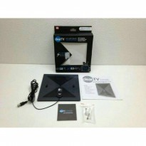 Clear Tv x - 71 HDTV Digital Indoor Antena Dalam Model Kotak