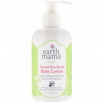 Earth Mama Baby Natural Non Scents Baby Lotion 240ml