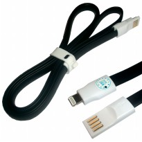Rexus Kabel iPhone-Lightning Magnet 1M - Hitam