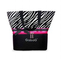 Gabag Zebra Breastmilk Cooler Bag Dapat 2 Ice Gel - BPA Free