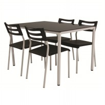 Atria Cube Dining Set 1 Table 4 Chair JTR