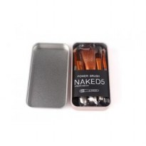 KUAS MAKE UP NAKED 5 (1 SET ISI 7 KUAS)