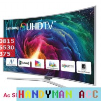 LED TV SAMSUNG 55 KS-9000'SUHD TV CURVE,QUANTUM DOT DISPLAY