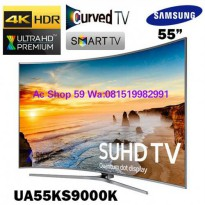 TV LED SAMSUNG 55 KS-9000 4K SUHD TV CURVED QUANTUM DOT DISPLAY PROMO