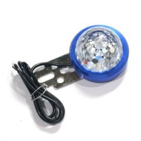 LAMPU KOLONG BULAT 2761 LED BLUE