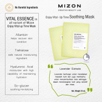 Enjoy Vital Up- Time Soothing Mask