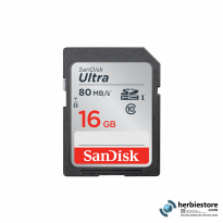 Sandisk SDHC Ultra 16GB Class 10 UHS-1 80MB/s