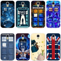 [globalbuy] Tardis Box Doctor Who Hard Transparent Cover Case for Galaxy S7 Edge S6 Edge P/4064294