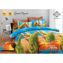 Sprei Kendra Premiere Motif Grand Peacock Uk.180 X 200