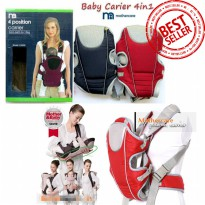 Gendongan Mothercare Baby Carrier 4in1