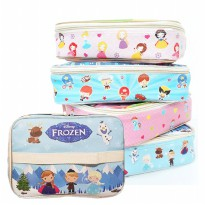 Lunch Bag Full Printing Waterproof/Tas Bekal Makan Tahan Panas| Superhero, Frozen, My Little Pony