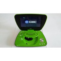 DVD TV PORTABLE GMC LAYAR 9inci GARANSI 1TH