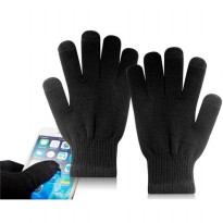 3-Finger Capacitive Screen Touching Bluetooth 3.0 Hand Gloves for Smar