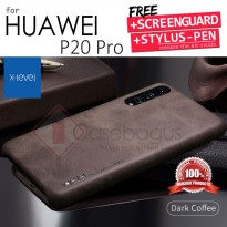 Huawei P20 Pro - X-Level Vintage Leather Back Case Cover