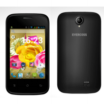 EVERCOSS A33A 2MP CAMERA - ANDROID 4.4 KITKAT - BLACK AND RED