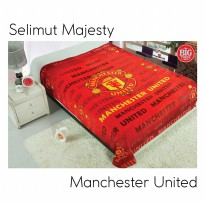 Majesty Selimut bulu halus Club bola/Football Edition (Manchester United MU/Barcelona Barca/Chelsea)