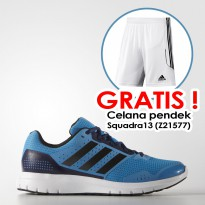 [FREE Shorts/Celana] Adidas Duramo 7 Men's Running Shoes / Sepatu Lari ORIGINAL B33552