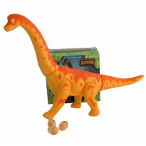 WALKING DINOSAURS : BRACHIOSAURUS REX 6626 (BROWN)