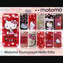 Motomo Case Alumunium Blend Hellokitty By Sanrio for Samsung