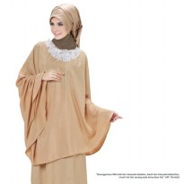Mukena Fashion Syar'i Tiara 221 Maribel Iva - Gold