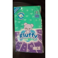 Fluffy Baby Diapers M Isi 9