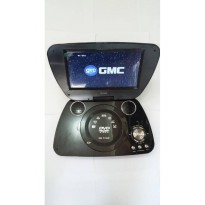 GMC DIVX-808U-TV 9' Portable DVD Player - Hitam