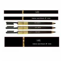 EYEBROW NARS PENCIL & BRUSH / PENSIL ALIS KALENG / COKLAT TUA (005)/ NICO20