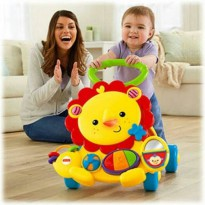 Fisher Price Toys Baby Walker Musical Lion
