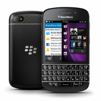 BLACKBERRY Q10 - Hitam/putih