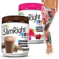 Natures Way Slim Right Coklat 375gr Diet Meal Replacement 1,2,3 Program