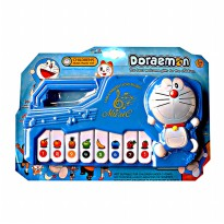CHILDREN MUSIC PIANO DORAEMON BATERE OPERATED