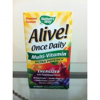 Natures Way Alive! Once Daily Multi Vitamin Ultra Potency Energizer