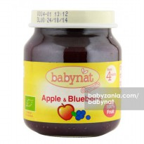 Babynat Organic Apple & Blueberry 4m+ - 130 gr