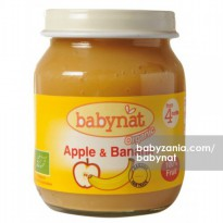 Babynat Organic Apple & Banana 4m+ - 130 gr