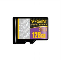 V-Gen Memory Micro SD 128GB Class 10 Turbo Series