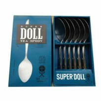 Tea Spoon / Sendok Teh Super Doll 1/2 Lusin