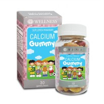 WELLNESS CALCIUM GUMMY (30) | Multivitamin Anak