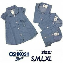 Dress/ Tunik Bayi Anak Jeans Denim Oshkosh
