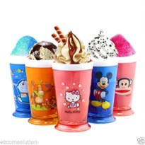 BEST PRODUCT - ZOKU HELLO KITTY & MICKEY Slush and Shake Maker