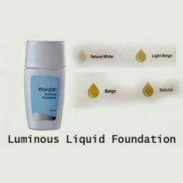 Wardah Luminous Liquid Foundation - 2 pcs