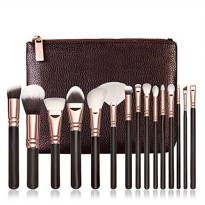 [macyskorea] SMTSMT 2016 15 PCS Pro Makeup Brushes Set Cosmetic Complete Eye Kit + Case/17509914
