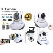 HD Wireless IP Camera Night Vision X8100-MH36 ( 2 Antena - Penangkap Sinyal Wifi Lebih Kuat )